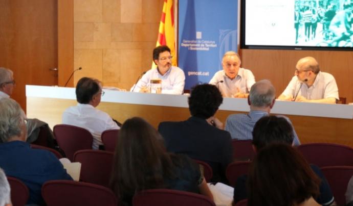El Pla es va presentar el 17 de juliol al Departament de Territori i Sostenibilitat. Font: ATM