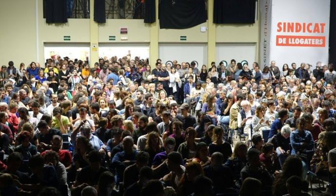 Imatge de la presentació del sindicat de llogaters de Barcelona Font: Sindicat de llogaters