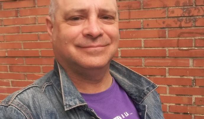 El president de la Federació Catalana de Joc Tradicional, Víctor Baroja. Font: Federació Catalana de Joc Tradicional
