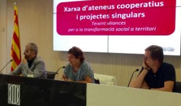 La Xarxa d'Ateneus Cooperatives s'ha creat durant tot el mes de desembre. Font: Aracoop