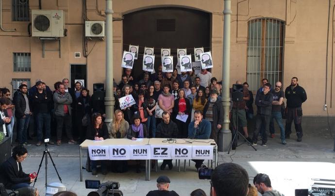 Acte de presentació de la 'Setmana per la Llibertat d'expressió'