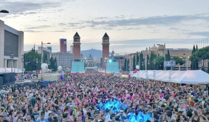 400.000 persones van participar del Pride Barcelona 2019. Font: IdemTV