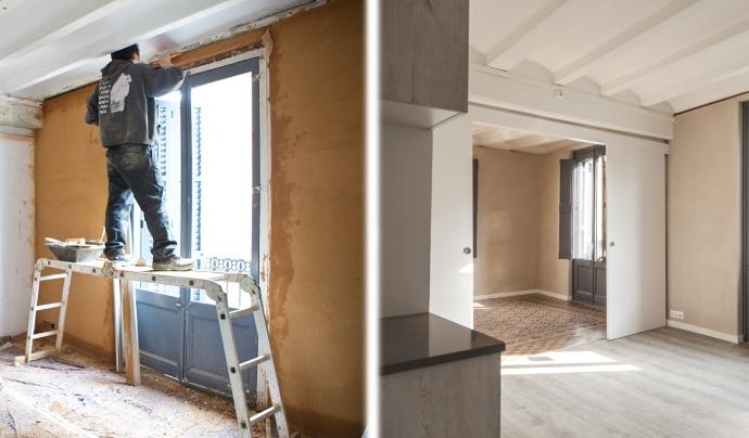 Princesa49 és la primera iniciativa d'habitatge cooperatiu a Barcelona, situada al districte de Ciutat Vella, al barri del Born Font: Sostre Cívic