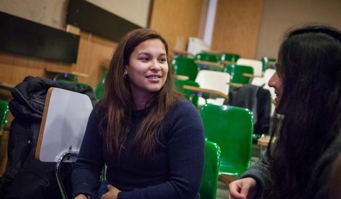 Entrevista a persona immigrant Font: Fundació Proide