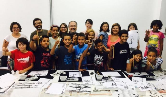Participants d'edicions anteriors de 'Vacances en Pau'. Font: Cooperació Osona-Sàhara