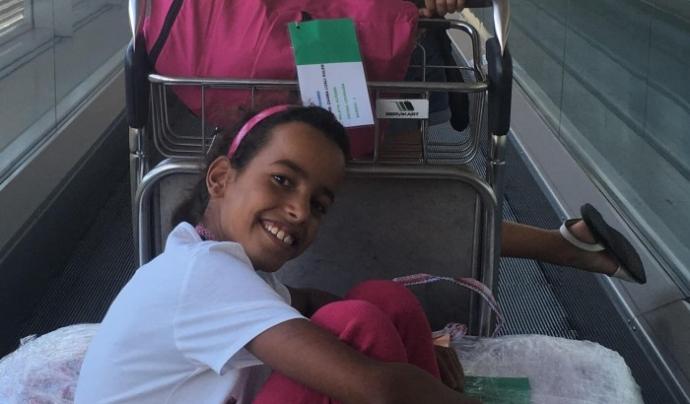 Durant dos mesos d'estiu, infants refugiats sahrauís tenen l'oportunitat de viure una experiència diferent a Catalunya. Font: Cooperació Osona-Sàhara