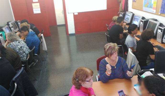 El Punt Òmnia de Plataforma Educativa, a Girona Font: Xarxa Òmnia