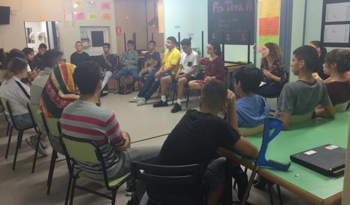 Joves participants al projecte