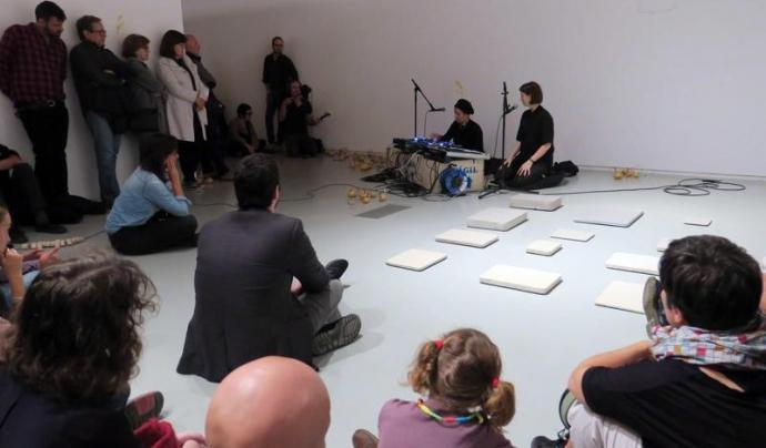La Biennal d'Art Leandre Cristòfol intenta establir una radiografia del present de l'art contemporani. Font: 11a Biennal d'Art Leandre Cristòfol