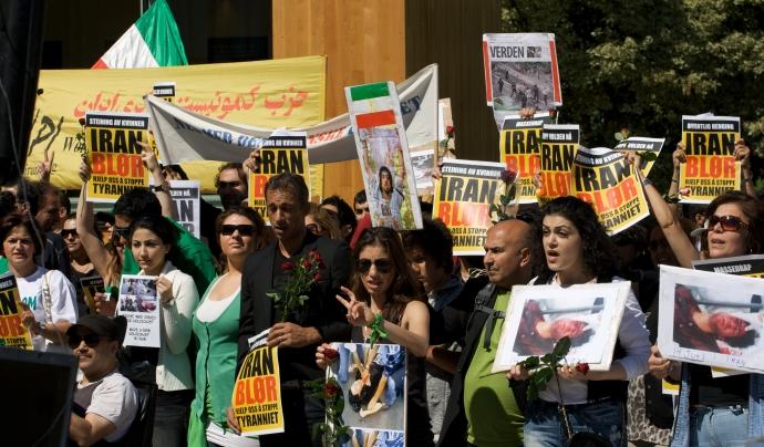 Protestes contra el règim iranià l'any 2009 a Escandinàvia