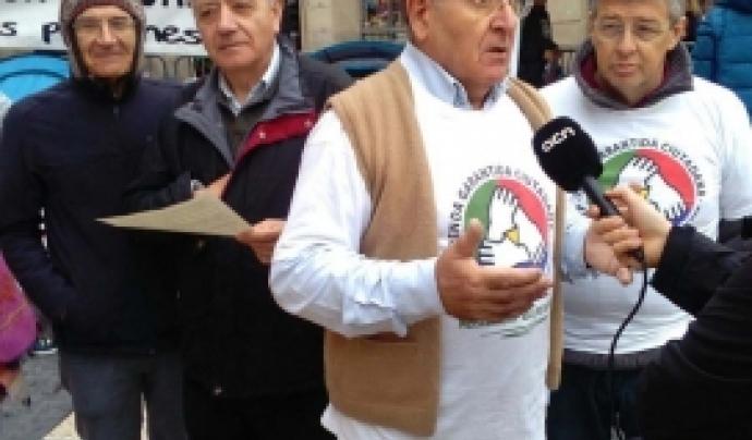 Diosdado Toledano, representant de la Comissió promotora