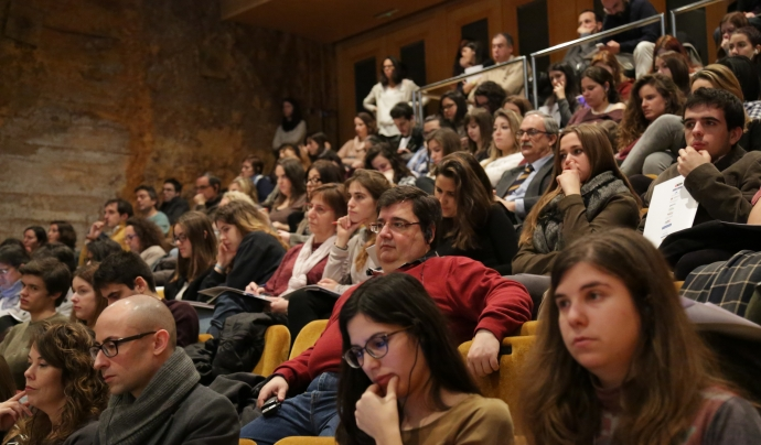 El públic d'una de les jornades que ha organitzat l'empresa social. Font: Social Business City