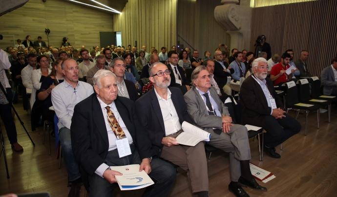El públic del Congrés de l'Esport Local al Recinte Modernista de Sant Pau Font: Diputació de Barcelona