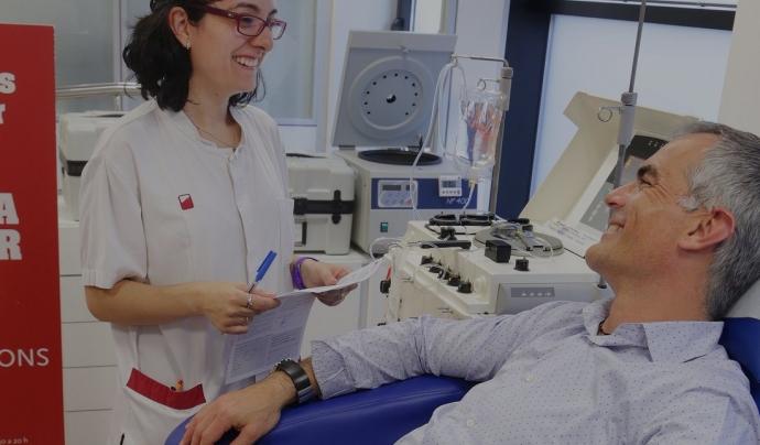 Troba el punt d'extracció de sang que tinguis més proper Font: Banc de Sang i Teixits