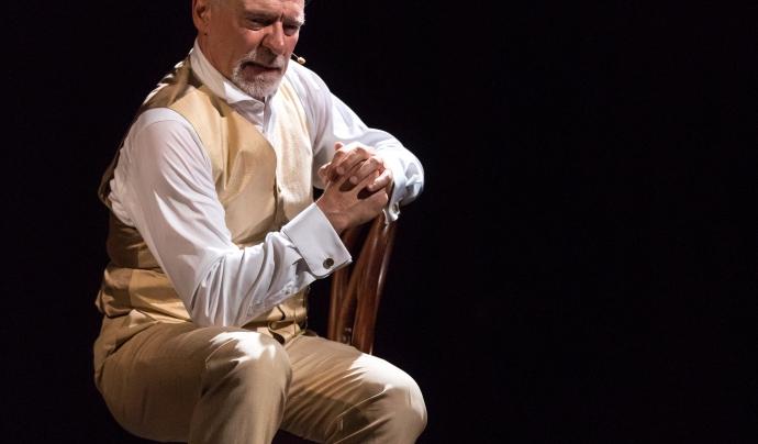 """L'obra """"Puig i Cadafalch, un croquis"""" està de gira pels teatres d'ateneus. Font: Montse Busquets"""