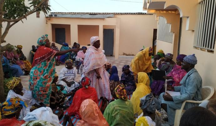 La comunitat de Niaga està molt involucrada en el projecte de Base-A. Font: Base-A