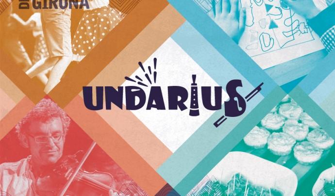 Cartell de l'edició d'enguany de l'Undàrius Font: Undàrius