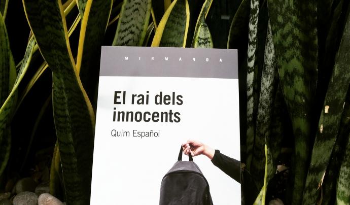 'El rai dels innocents' explica algunes de les vivències de l'autor durant la seva etapa de professor voluntari. Font: Edicions de 1984