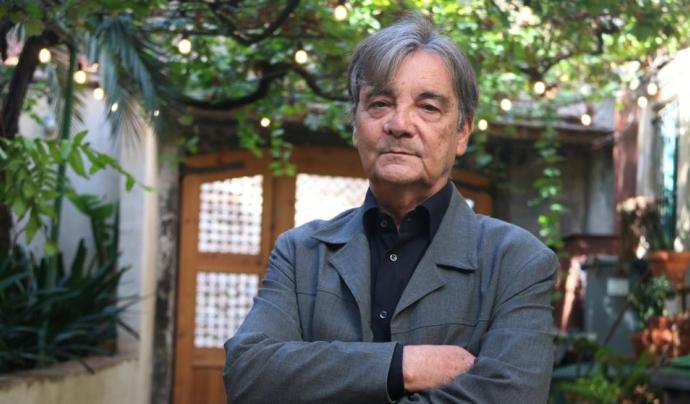El poeta i arquitecte, Quim Español. Font: Pau Cortina