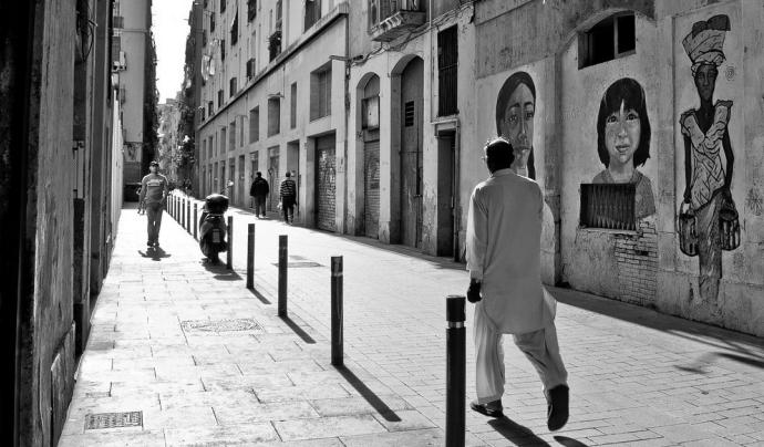 El Raval és el barri amb més diversitat de Barcelona Font: Davidlohr Bueso