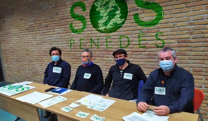SOS Penedès ha presentat diverses propostes al pla territorial del Penedès. Font: SOS Penedès