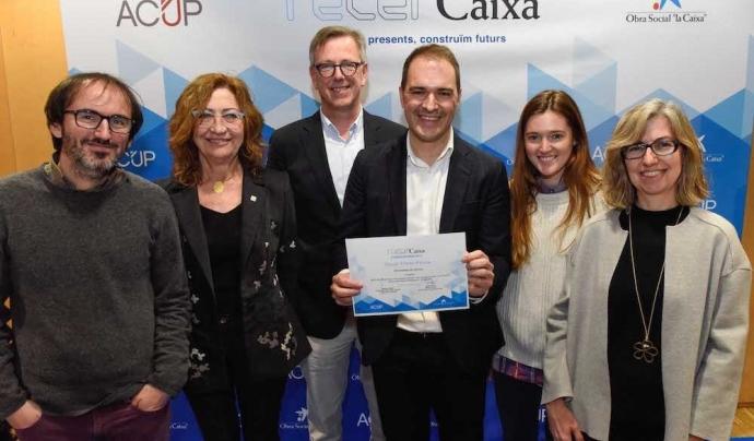 El projecte 'APPlying Mentoring' ha rebut el premi Recercaixa Font: Coordinadora Mentoria Social