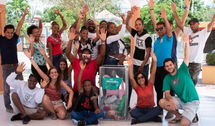 Segons els voluntaris i voluntàries, la clau del projecte és la participació ciutadana. Font: Associació Nous Camins