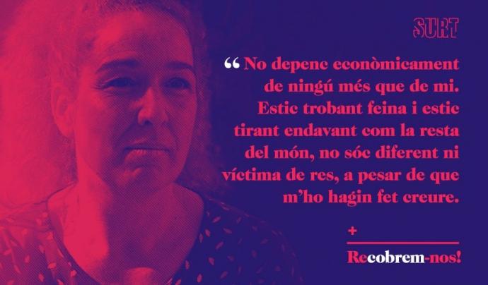 Un dels testimonis de la campanya Font: Fundació Surt