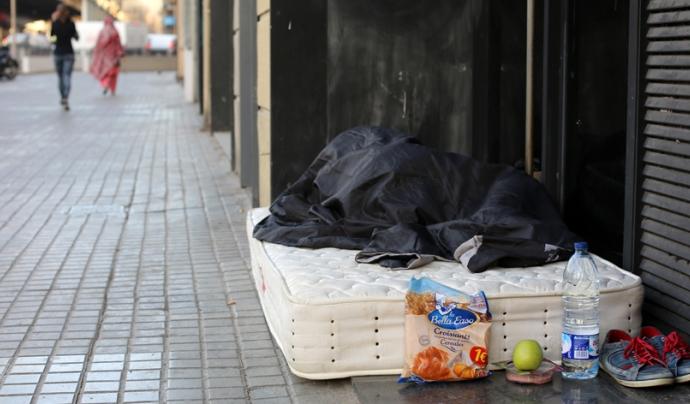 La campanya recorda que l'accés a un habitatge digne és un dret. Font: Arrels Fundació