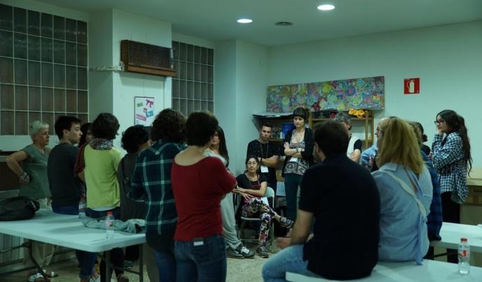 Persones voluntàries del recompte de persones sense llar Font: Ajuntament de Barcelona