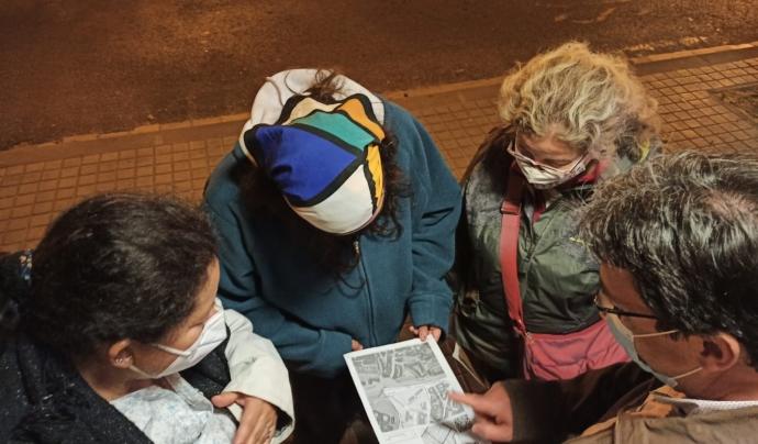 La participació del voluntariat és una peça clau dels recomptes de persones llar com el que s'ha fet a Badalona. Font: Taula Sense Llar Badalona