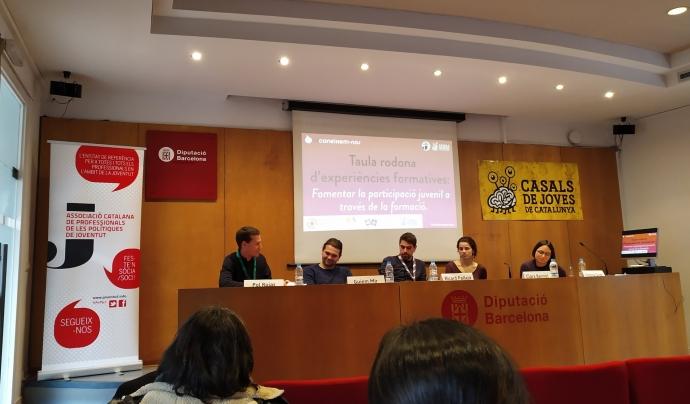 Jornada '(Re)coneixem-nos' amb la participació d'entitats juvenils. Font: Associació Catalana de Professionals de Joventut