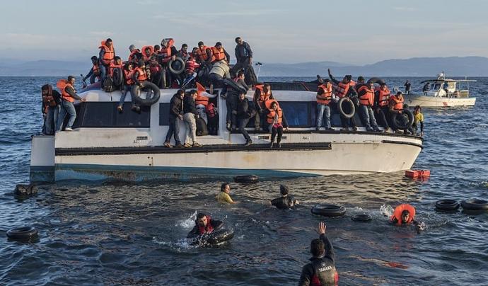 Les persones refugiades tenen un elevat risc de contagiar-se i que es produeixin brots en camps. Font: Wikipedia