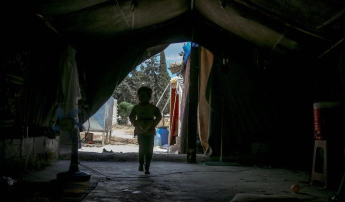 Síria és el país del món amb més nens i nenes refugiats. Font: Ahmad Akacha