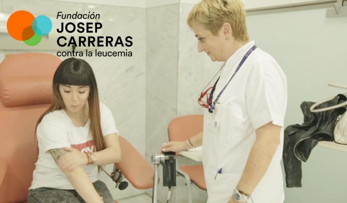 La Fundació vol recaptar un milió d'euros per finançar uns assajos clínics innovadors a Europa per a la cura del limfoma de Hodgkin.  Font: Fundació Josep Carreras