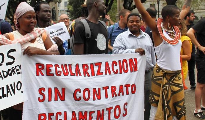 Més de 1.130 associacions ja s'han sumat al moviment estatal #RegularizacionYa. Font: Coordinadora Obrim Fronteres