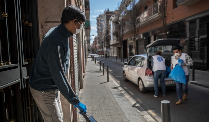 L'entitat atèn a persones en risc d'exclusió social des del 2001 a Catalunya. Font: Eva Parey (Metges del Món)