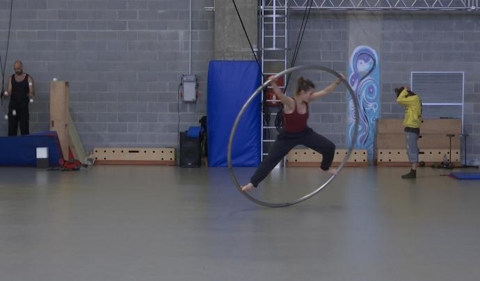 És un espai on els professionals del circ poden entrenar. Font: LaviniaNext