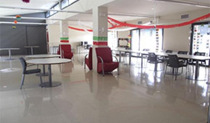 Un dels espais d'una residència d'atenció a persones amb discapacitat intel·lectual. Font: Associació Aremi