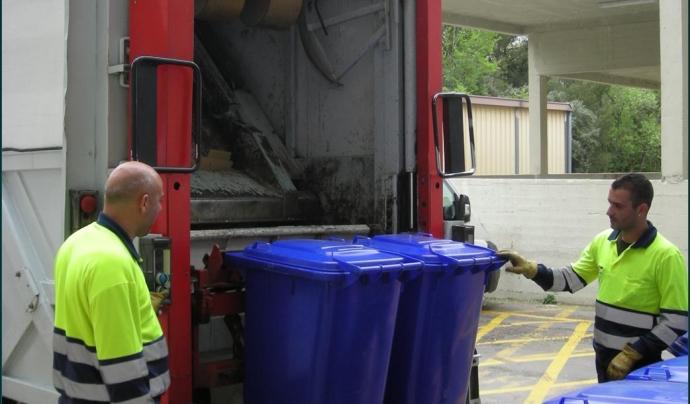Gestió de residus a la UAB. Font: Oficina de Medi Ambient de la UAB