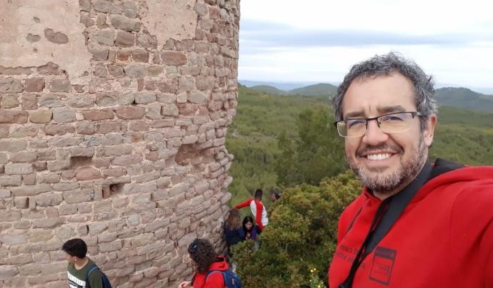 Ricard Vicente, director de l'Esplai Pubilla Cases-Can Vidalet. Font: R.V. Font: R.V.