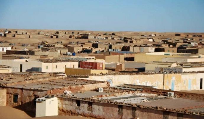 Campament al Sàhara Occidental. Font: Marcos Costa