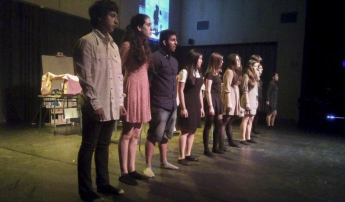 """""""Els alumnes han estat protagonistes del seu aprenentatge"""" / Foto: Donar veu a la memòria"""