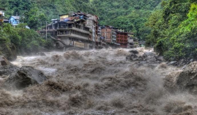 Corrent avall del riu Aiguas Calientes. Font: Wikimedia