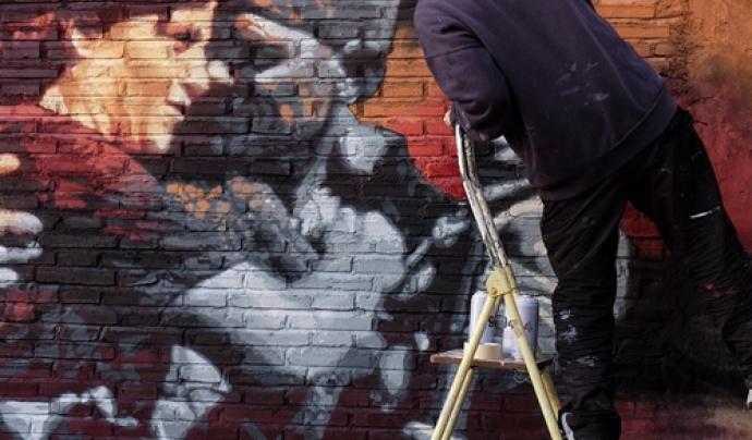 """Exposició """"Els carrers són nostres"""", de RocBlackBlock Font: RocBlackBlock"""