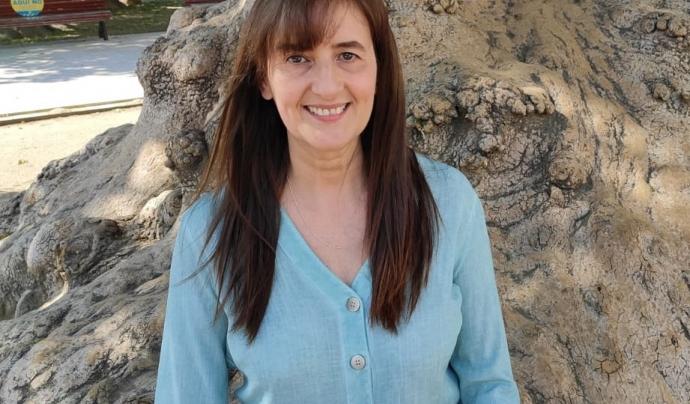 Rosa Mari Martín, la responsable de l'entitat. Font: Fundació Akwaba