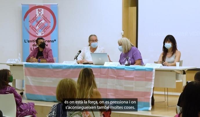 Presentació de TransBaix Power & Roses de Sant Feliu. Font: IdemTV