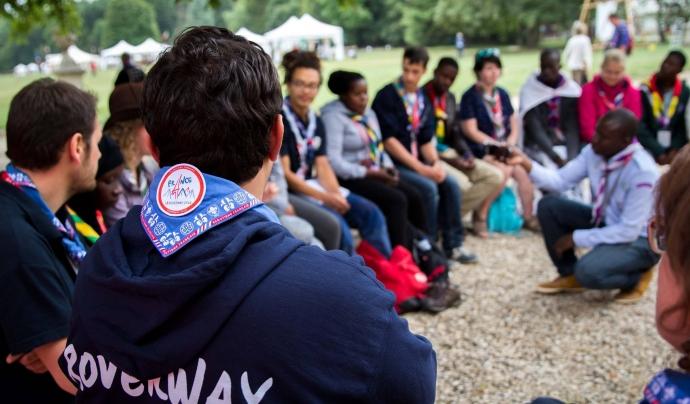Joves participant a la trobada Roverway