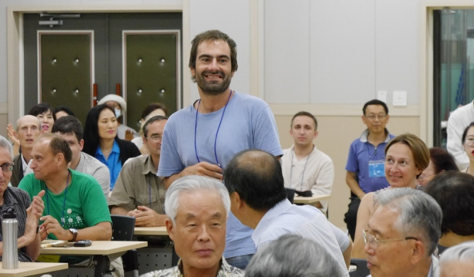 Rubén Fernández va començar a aprendre esperanto el 1998, durant l'últim any de carrera.  Font: R. F.