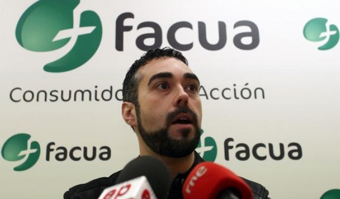 Rubén Sánchez, portaveu de Facua.  Font: Facua